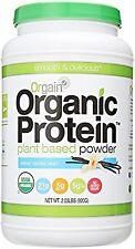 Orgain Organic Plant Based Protein Powder, Sweet Vanilla Bean, 2.03 Pound, 1