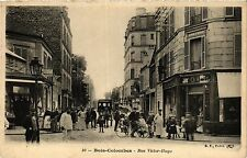 CPA BOIS-COLOMBES Rue Victor Hugo (413808)