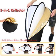 """24""""/60cm 5-in-1 Photo Studio Multi-Disc Collapsible Light Reflector Ourdoor Prop"""