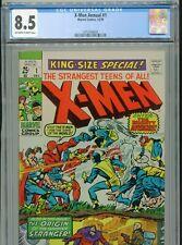 New listing 1970 Marvel X-Men King-Size Annual #1 Cgc 8.5 Ow-W Box1