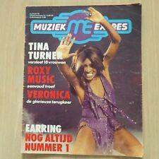 MUZIEK EXPRES -JA. 1976 / TINA TURNER/GOLDEN EARRING/ROXY MUSIC/LIVIN'BLUES