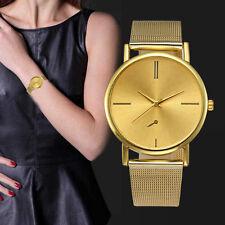 Fashion Womens Classic Watch Gold Luxury Quartz Stainless Steel Wrist Watches AU