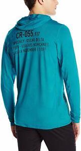 Reebok Crossfit Performance Hoodie Size Large (English Emerald) Men's Sweatshirt