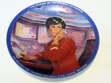 Star Trek Uhura From Hamilton Collection Plates From 1983 Very Good Condition