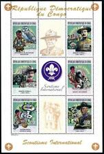 [G132707] Congo 2004 Scouting good sheet very fine MNH