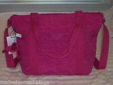 NWT Kipling ADARA Medium Tote Bag Very Berry Pink TM4055