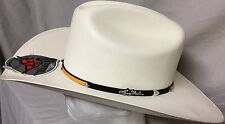 Larry Mahans Crown Series By Milano Hat Co. 100XXXXX! 7 1/2 60cm Shantung Panama