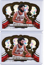 Robin Lopez 2018-19 Panini Crown Royale Lot Gold Crystal Parallel 1/10 eBay *1/1