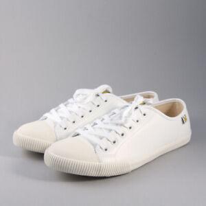 Lyle & Scott Tima Leather FW710 - White