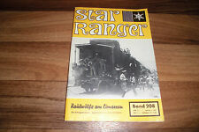 STAR RANGER WESTERN # 208 -- RAUBWÖLFE am CIMARRON // ca 1960er