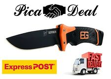 Gerber Bear Grylls Ultimate Pro Fixed Blade Knife Hunting Camping Survival SHARP