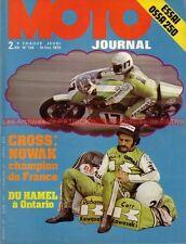 MOTO JOURNAL  139 OSSA 250 Enduro MOTOBECANE 350 Injection KAWASAKI 1973