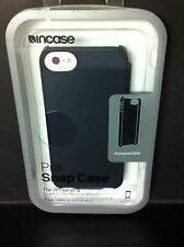 Incase iPhone 5 SE iPhone 5S Pro Snap Shell Case w Grip Edge Frost Black gray