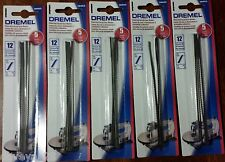 "Wholesale Lot 180/5 Pk (900) Dremel 16453 5"" Plain End Scroll Saw Blades CHEAP!"