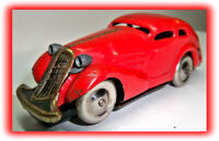 VINTAGE SCHUCO TIN WIND-UP CAR W/KEY 1930'S GERMANY