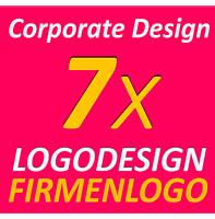 7x Logodesign Vorschläge Service Firma Firmengründung Firma Corporate Design