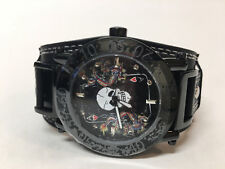 "NEW Ed Hardy #HU-AC 0225 ""Ace of Hearts w/ Skul"" Hugo Watch Christian Audigier"