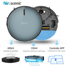Proscenic 830P Alexa Robot aspirapolvere lavapavimenti mappatura 2KPa spazzino