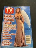 TV GUIDE DEC 3. 1994 CRYSTAL BERNARD WINGS HOLIDAY VIEWING COMPLETE MAGAZINE