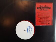 "MAXI 12"" ROB N RAZ In command UK Remix White label Red vynil 4509 95167 0"