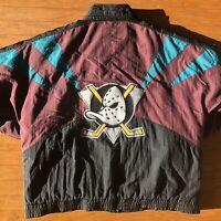 Rare Anaheim Mighty Ducks Vintage Apex One National Hockey League Jacket