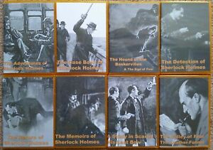 The Complete Canon - Sherlock Holmes Audio Books - Set of 8 mp3 CDs