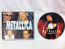 Very Rare METALLICA THE INTERVIEW SESSIONS CD Chatback Records #CHATCD13