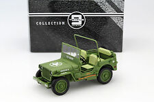 Jeep Willy's Esercito USA Anno di costruzione 1942 ESERCITO VERDE 1:18 Triple 9