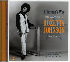 "THE COMPLETE ROZETTA JOHNSON  ""A WOMAN'S WAY 1963-1975""  CD"