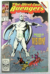West Coast Avengers #45 🔥 1st White Vision Appearance 🔥 WandaVision Colorless