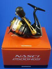 Shimano Nasci 2500HGS FB // NAS2500HGSFB // Front Drag Fishing Reel