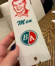 BA British America oil and gas restroom key holder