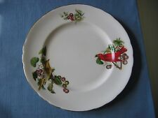Vintage TUSCAN Audubon Birds / SUMMER TANAGER Bone China Saucer & Plate Only