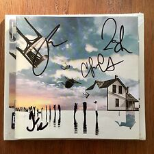 Coheed And Cambria - The Colour Before the Sun Cd Signed Autographed Booklet