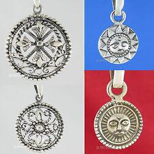 Echte Edelmetall-Halsketten & -Anhänger ohne Steine im Medaillon-Stil mit Besondere Anlässe für Unisex