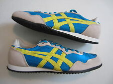 NEW Asics Onitsuka Tiger Serrano D109L 4203 men shoe mexico 66 blue yellow 9 US