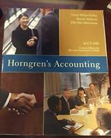 Horngren's Accounting, Elevennth Edition - Paperback - GOOD