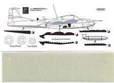 Aztec Decals 1/48 A-37B DRAGONFLY Underside for Colombian Version Paint Mask Set