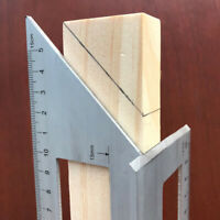 Multifunctional Square 45/90 Degree Gauge Angle Ruler Measuring Tool Charm