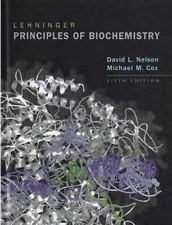 Lehninger Principles of Biochemistry, by Nelson and Cox 5TH EDITION