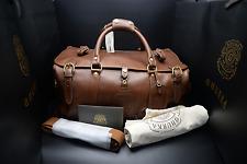 Ghurka Kilburn II No. 156 – Vintage Chestnut - Travel Duffel Bag