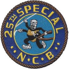 25th Special Naval Construction Battalion WWII Patch