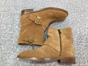 """New MICHAEL KORS""""REEVES"""" Suede Ankle Boot Sz 7.5"""