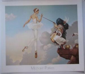 Leda's Daughter by Michael Parkes Fine Art Print
