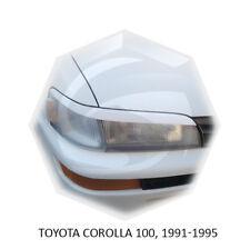 For Toyota Corolla AE100 1991-1994 Eyebrows Eyelids Eye Line Unpainted 2 pcs