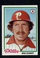 1978 Topps #360 Mike Schmidt NM/NM+ Phillies A4779