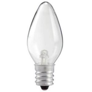 7 watt night clear light bulbs replacement candelabra nightlight C7 E12 applianc