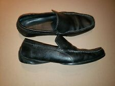 Lacoste Argon Lexi 2 Black Driving Loafers Shoes Size 12 very good condition