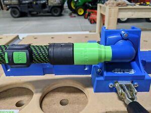 Festool Cleantec 27mm Locking Dust Adapter for Kreg K5 & K4 Pocket Hole Jigs