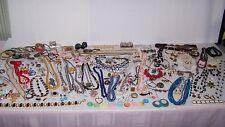9 lb Now ~ Vintage Jewelry Lot ~ Signed Wear Share Swap Meet Resale Mix Lot # 1